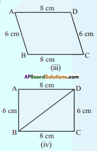 AP Board 8th Class Maths Solutions Chapter 3 Construction of Quadrilaterals Questions 8