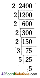 AP Board 8th Class Maths Solutions Chapter 6 Square Roots and Cube Roots Ex 6.2 3