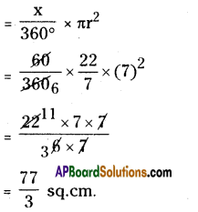 AP Board 8th Class Maths Solutions Chapter 8 Area of Plane Figures Ex 9.2 16
