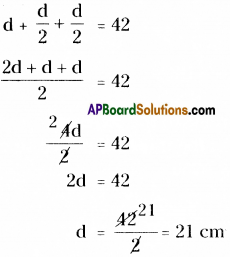 AP Board 8th Class Maths Solutions Chapter 8 Area of Plane Figures Ex 9.2 3