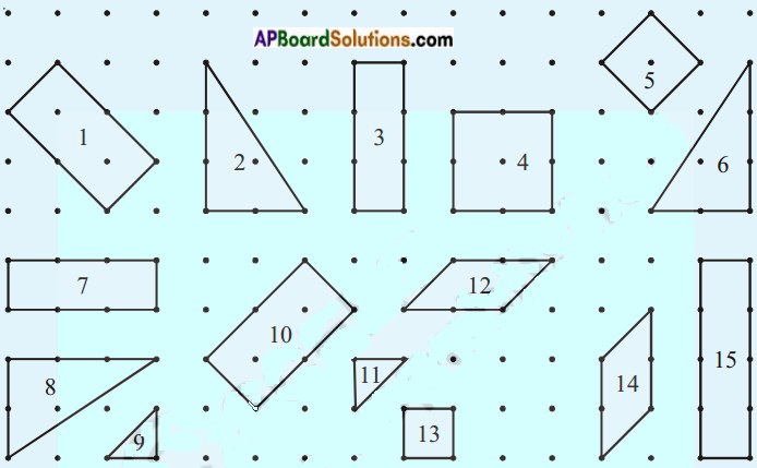 AP Board 8th Class Maths Solutions Chapter 8 Exploring Geometrical Figures InText Questions 1