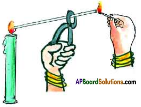 AP Board 8th Class Physical Science Solutions Chapter 8 Combustion, Fuels and Flame 1