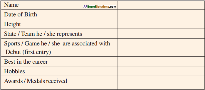 AP Board 9th Class English Solutions Chapter 2C V.V.S. Laxman, Very Very Special 1