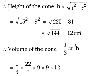 AP Board 9th Class Maths Solutions Chapter 10 Surface Areas and Volumes Ex 10.3 1