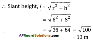 AP Board 9th Class Maths Solutions Chapter 10 Surface Areas and Volumes Ex 10.3 7