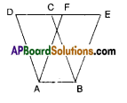AP Board 9th Class Maths Solutions Chapter 11 Areas Ex 11.2 1