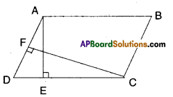 AP Board 9th Class Maths Solutions Chapter 11 Areas Ex 11.2 2