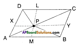 AP Board 9th Class Maths Solutions Chapter 11 Areas Ex 11.2 6