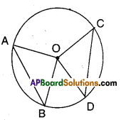 AP Board 9th Class Maths Solutions Chapter 12 Circles Ex 12.2 1