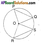 AP Board 9th Class Maths Solutions Chapter 12 Circles Ex 12.2 2