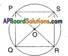 AP Board 9th Class Maths Solutions Chapter 12 Circles Ex 12.2 3