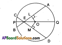 AP Board 9th Class Maths Solutions Chapter 12 Circles Ex 12.3 6