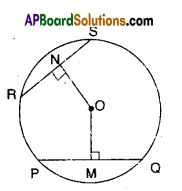 AP Board 9th Class Maths Solutions Chapter 12 Circles Ex 12.4 8