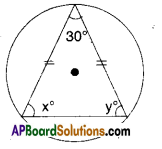 AP Board 9th Class Maths Solutions Chapter 12 Circles Ex 12.5 1