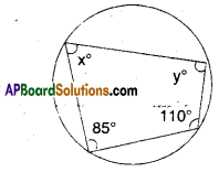 AP Board 9th Class Maths Solutions Chapter 12 Circles Ex 12.5 2