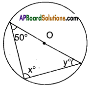 AP Board 9th Class Maths Solutions Chapter 12 Circles Ex 12.5 3