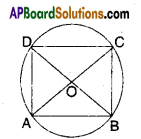 AP Board 9th Class Maths Solutions Chapter 12 Circles Ex 12.5 4