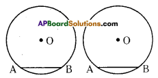 AP Board 9th Class Maths Solutions Chapter 12 Circles InText Questions 7