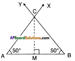 AP Board 9th Class Maths Solutions Chapter 13 Geometrical Constructions Ex 13.1 12