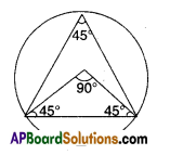 AP Board 9th Class Maths Solutions Chapter 13 Geometrical Constructions Ex 13.2 8