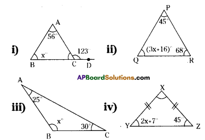 AP Board 9th Class Maths Solutions Chapter 2 Linear Equations in One Variable Ex 2.2 1