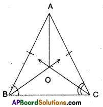 AP Board 9th Class Maths Solutions Chapter 7 Triangles Ex 7.2 1