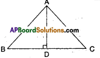 AP Board 9th Class Maths Solutions Chapter 7 Triangles Ex 7.2 2