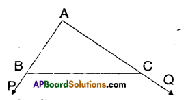 AP Board 9th Class Maths Solutions Chapter 7 Triangles Ex 7.4 2