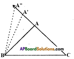 AP Board 9th Class Maths Solutions Chapter 7 Triangles InText Questions 5