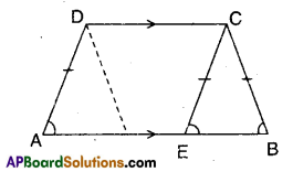 AP Board 9th Class Maths Solutions Chapter 8 Quadrilaterals Ex 8.1 4