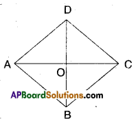 AP Board 9th Class Maths Solutions Chapter 8 Quadrilaterals Ex 8.2 2