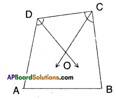 AP Board 9th Class Maths Solutions Chapter 8 Quadrilaterals Ex 8.2 3