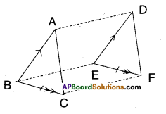 AP Board 9th Class Maths Solutions Chapter 8 Quadrilaterals Ex 8.3 8