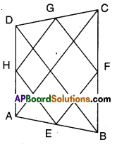 AP Board 9th Class Maths Solutions Chapter 8 Quadrilaterals Ex 8.4 2