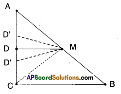 AP Board 9th Class Maths Solutions Chapter 8 Quadrilaterals Ex 8.4 7