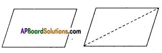 AP Board 9th Class Maths Solutions Chapter 8 Quadrilaterals InText Questions 1