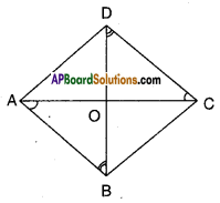 AP Board 9th Class Maths Solutions Chapter 8 Quadrilaterals InText Questions 3