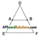 AP Board 9th Class Maths Solutions Chapter 8 Quadrilaterals InText Questions 7