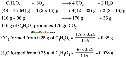 AP Board 9th Class Physical Science Important Questions Chapter 6 Chemical Reactions and Equations 12