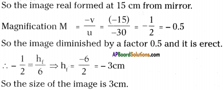 AP Board 9th Class Physical Science Important Questions Chapter 7 Reflection of Light at Curved Surfaces 35