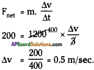 AP Board 9th Class Physical Science Solutions Chapter 2 Laws of Motion 1