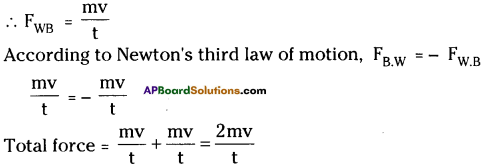 AP Board 9th Class Physical Science Solutions Chapter 2 Laws of Motion 13