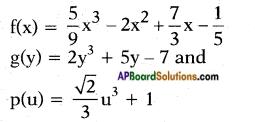 AP SSC 10th Class Maths Chapter 3 Polynomials InText Questions 2