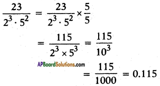 AP SSC 10th Class Maths Solutions Chapter 1 Real Numbers Ex 1.3 13