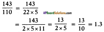 AP SSC 10th Class Maths Solutions Chapter 1 Real Numbers Ex 1.3 15