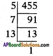 AP SSC 10th Class Maths Solutions Chapter 1 Real Numbers Ex 1.3 7