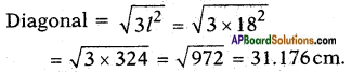 AP SSC 10th Class Maths Solutions Chapter 10 Mensuration Optional Exercise 9