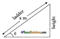 AP SSC 10th Class Maths Solutions Chapter 12 Applications of Trigonometry InText Questions 3
