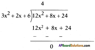 AP SSC 10th Class Maths Solutions Chapter 3 Polynomials Ex 3.4 10