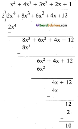 AP SSC 10th Class Maths Solutions Chapter 3 Polynomials Ex 3.4 12